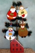 Roly-Poly Ornaments Wool Applique Pattern
