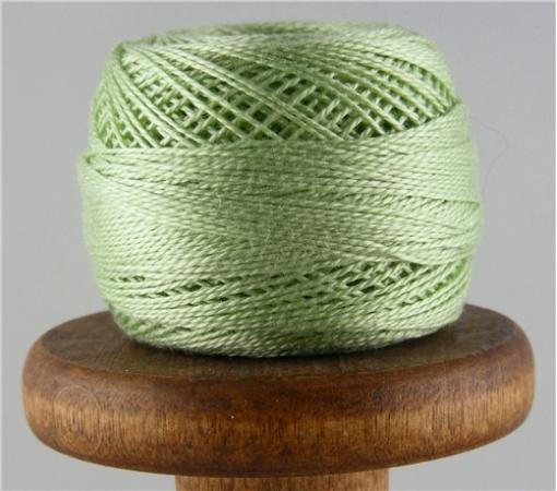 Picture of DMC Perle Cotton Very Light Pistachio Green #369