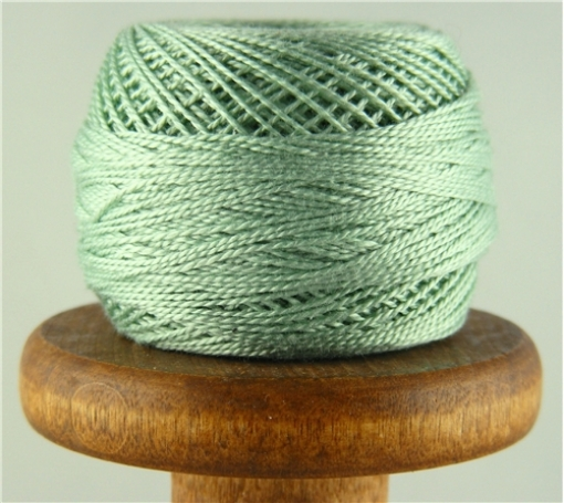 Picture of DMC Perle Cotton Very Light Blue Green #504