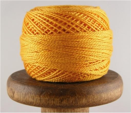 Picture of DMC Perle Cotton Light Tangerine #742