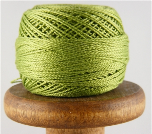 Picture of DMC Perle Cotton Very Light Avocado Green #471