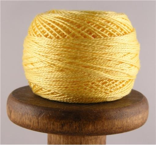 Picture of DMC Perle Cotton Very Light Topaz #727