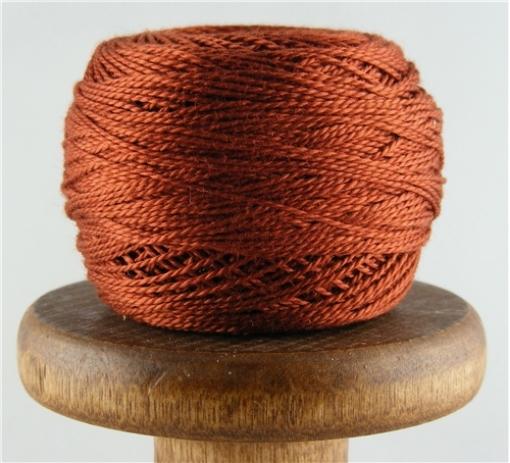 Picture of DMC #918 Perle Cotton Dark Red Copper
