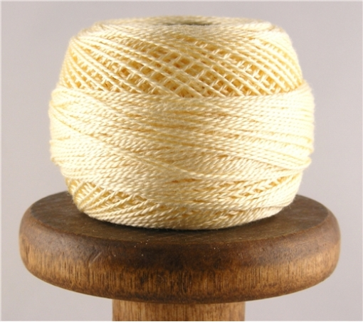 Picture of DMC Perle Cotton Ultra Pale Yellow #3823
