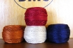 Snowman Village Wool Applique Table Runner Thread