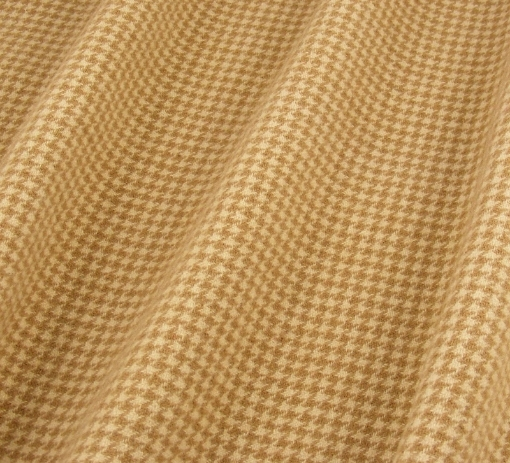 Picture of Wool - Camel Houndstooth