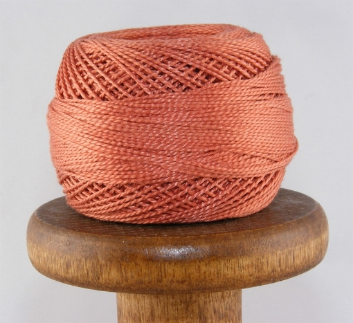 Picture of DMC  #356 Medium Terra Cotta Perle Cotton