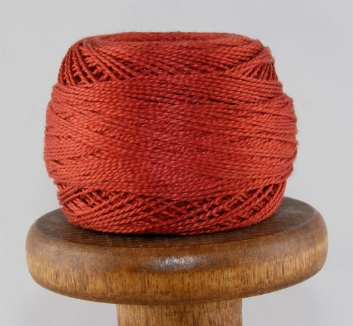 Picture of DMC #355 Dark Terra Cotta Perle Cotton