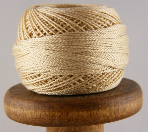 Picture of DMC Perle Cotton #739 Ultra Very Light Tan