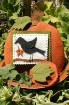 Picture of Pumpkin & Crow Pin Cushion Set