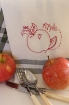 Picture of Fruit & Veggie - Apple - Hand Embroidery Pattern