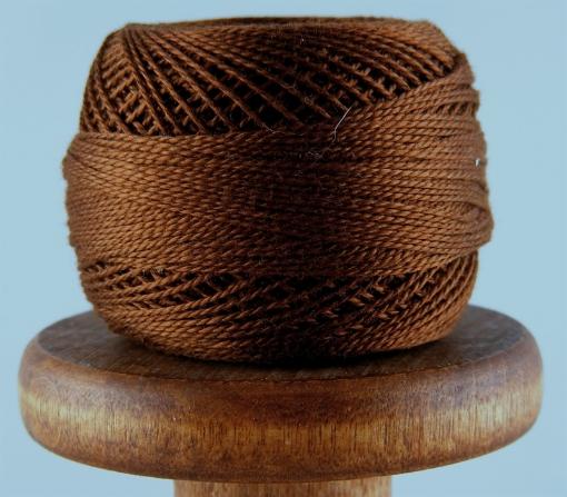 Picture of DMC Perle Cotton #801 Dark Coffee Brown