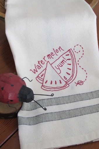 Picture of Fruits & Veggie - Watermelon - Hand Embroidery Pattern