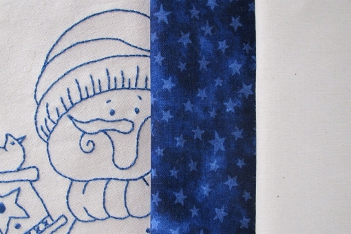 Picture of Blue Star Cotton and Muslin