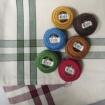 Holiday Season Tea Towels and Thread