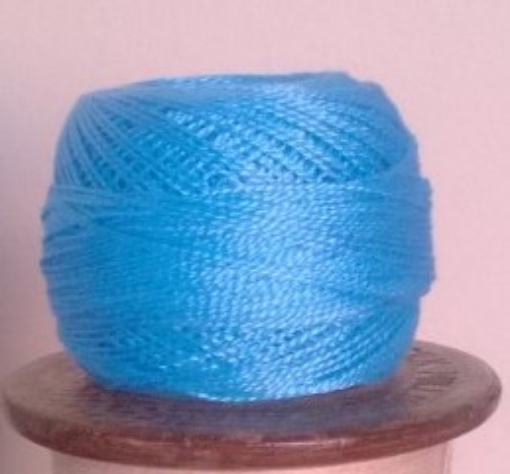 Picture of DMC #996 Turquoise Perle Cotton