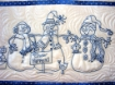 Picture of Snow Happens! Machine Embroidery Table Runner