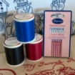 Picture of Red Bottom Line Bobbin Thread
