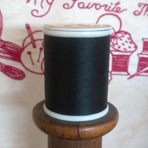 Picture of Black Bottom Line Bobbin Thread