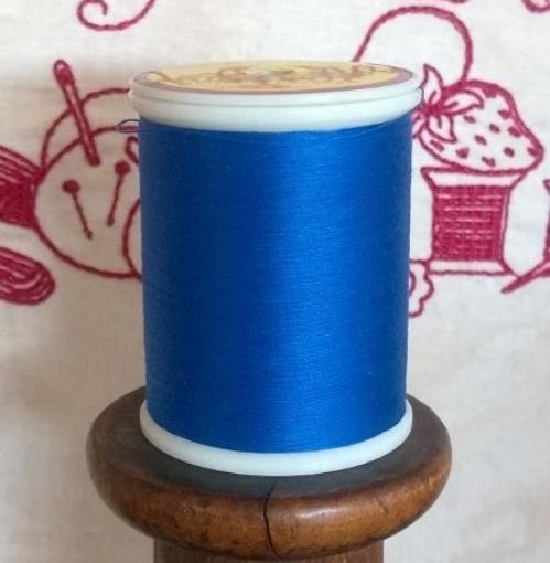 Picture of Dark Bird Brain Blue Machine Embroidery Thread