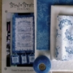 Picture of Thyme To Garden BlueWork - Machine Embroidery
