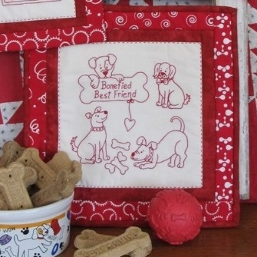 Picture of Bonefied Best Friend - Fabric Packet