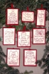 Picture of Holiday Words Machine Embroidery Ornaments Collection