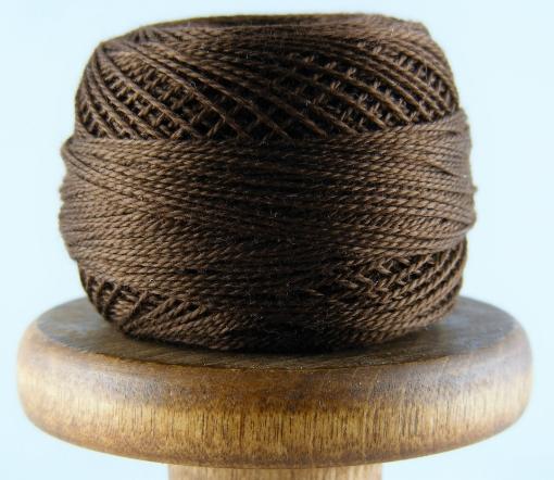Picture of DMC Perle Cotton #938 Ultra Dark Coffee Brown