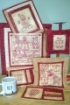Picture of Gingerbread Wishes Hand Embroidery RedWork