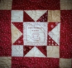 Picture of In Stitches Stars Red Quilt - Free Download