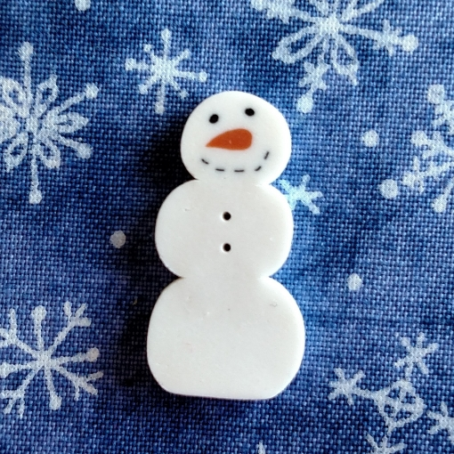 Picture of Snowman Button