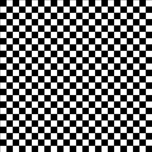 Picture of Cotton Fabric Simple Check - Natural & Black