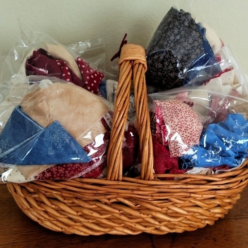 Picture of Cotton Fabric Scrap Bag