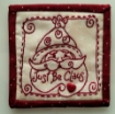 Just Be Claus Embroidery Pattern