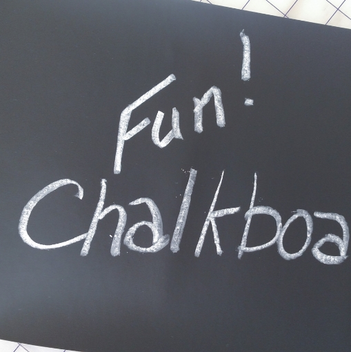 """Picture of Chalkboard Fabric 12"""" x 48"""""""