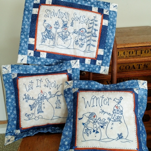 Picture of Snowman Season - Hand Embroidery