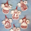 Picture of Guardian Angels RedWork