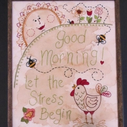 Picture of Good Morning! Let the Stress Begin