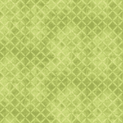 Picture of Halloweenie Stitched Crosshatch Green Cotton Fabric