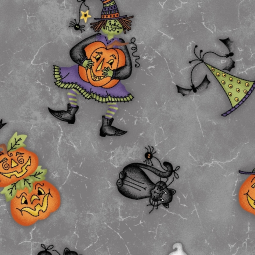 Picture of Tossed Halloweenie - Gray