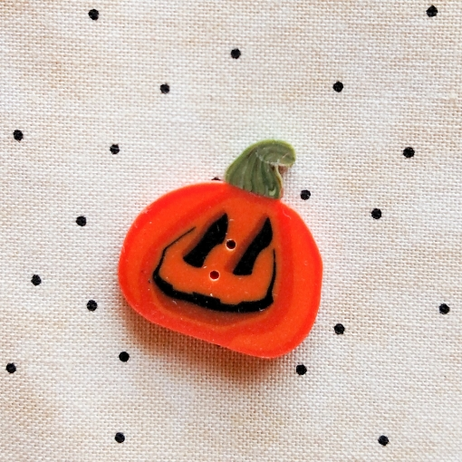Picture of Pumpkin Button