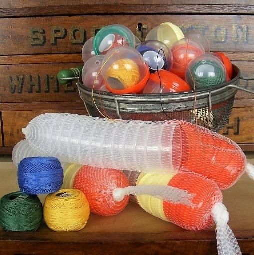 Picture of Perle Cotton Plastic Bubbles