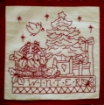 Picture of 4 Seasons in the Garden Machine Embroidery