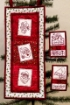 Picture of Santa Patchwork Hand Embroidery