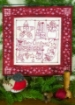 Picture of Merry Christmas RedWork Sampler