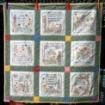 Friendship's Garden Quilt - Hand Embroidery Pattern