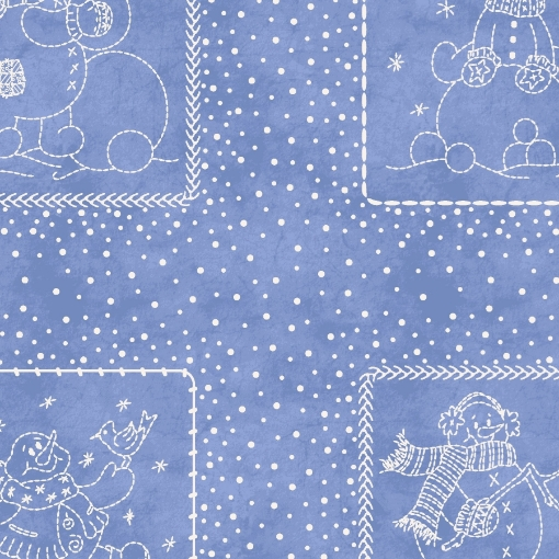 Picture of Roly-Poly Patches - Blue