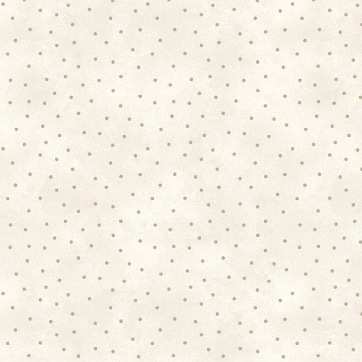 Picture of Scattered Dots Ecru/Taupe 100% Cotton Fabric