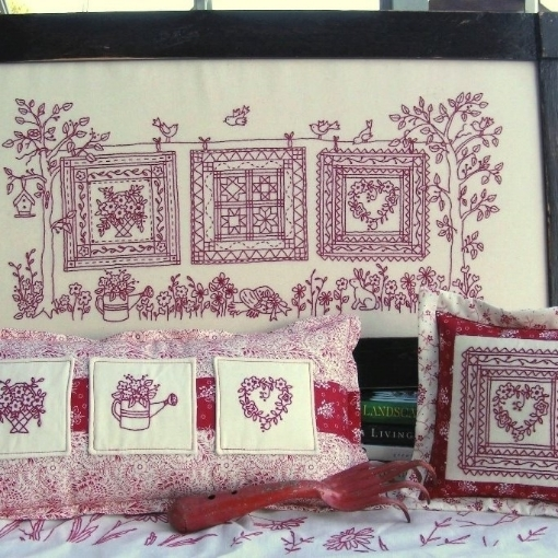 Picture of Quilts In the Garden - Machine Embroidery