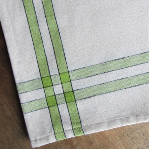 Picture of Lime Striped Tea Towel